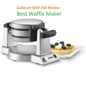 Cuisinart WAF-F20 Double Belgian Waffle Maker, Stainless Steel Review